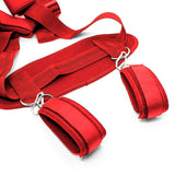 Women Punk Chain Belt Handcuffs&Neck Pillow&Ankle Cuff Erotic Sex Toys For Woman