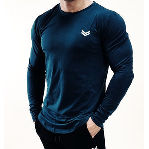New Long Sleeve Workout T Shirt Quick Dry