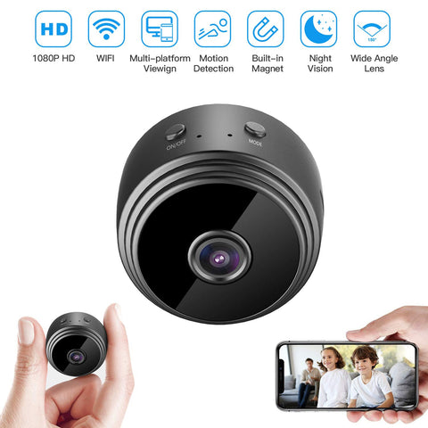 1080P Wireless Night Vision Camera Surveillance Remote Monitor App Smart Motion