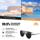 2020 Retro Polarized Aluminum Magnesium Sunglasses