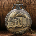 Antique Pocket Watch For Truck Drivers