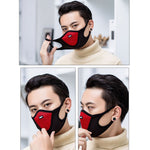 Anti Pollution Dust Respirator Washable Reusable Cotton Mask