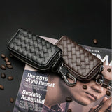 Car Key Wallets Men Leather