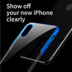 For iPhone XS XS Max Case Luxury Plating Hard Plastic Phone Case