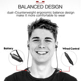 Neckband Bluetooth Wireless Earphone Stereo with MIC