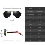 Aluminum Polarized Sunglasses 150mm Big Size Coating Lens Large Driving Shade