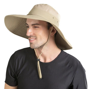 15cm Super Large Wide Brim Waterproof Breathable Bucket Hat