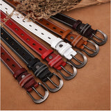 New Vintage Cow Genuine Leather Belt for Women