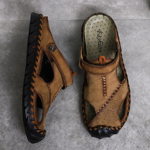 Classic 2020 Hollow Breathable Men Sandals High Quality