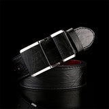High Quality Fashion Antique Leather Belt Smooth Buckle