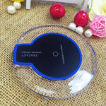 Crystal Fantasy Wireless Fast Charger For iPhone XS XS Max X 8 Samsung Galaxy S9 S9 S10 Plus Note 9