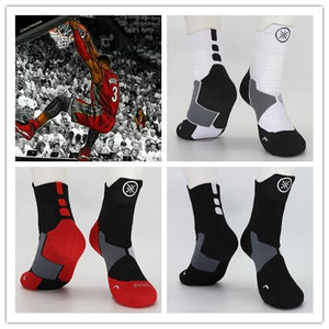 The Flash Basketball Middle Calf Cotton Thick Socks