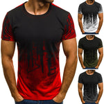 Camouflage Printed Fit T Shirt for Men