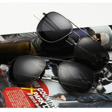Fashion Black American Army MILITARY Polarized Pilot UV400 Sunglasses