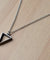 Fashion Silver Pendant Necklace Men Temperament Stainless Steel Chain Necklace