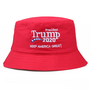 2020 Summer Trump Sun Bucket Hat