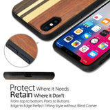 Shockproof Funda Natural Wooden Phone Case for iPhone X XS XR XS Max