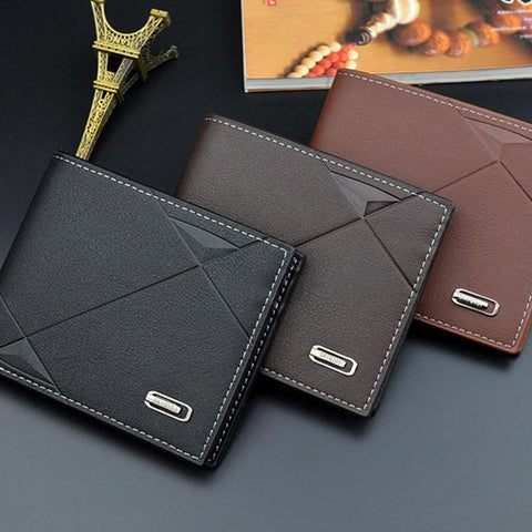 Genuine Leather Luxury Design Wallet With Coin Pocket