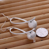 925 jewelry silver plated Earring