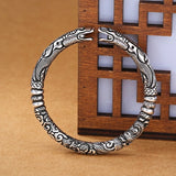 Dragon head Thai silver Adjustable Bracelets & Bangles for men & women
