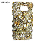 Rhinestone Cases For Samsung Galaxy S8  S5 S6 S7 Edge note 3 4 5 7 8