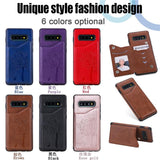 New Leather Wallet Card Holder Case For Samsung Galaxy S10 S10 Plus S10E S9 S8 Plus Note 9 8