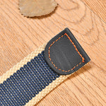 Army Canvas Non-slip Belt Alloy Pin Puckle