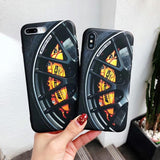 AMG Tire design case for iPhone 6 6s 7 8 Plus X XS XR Max