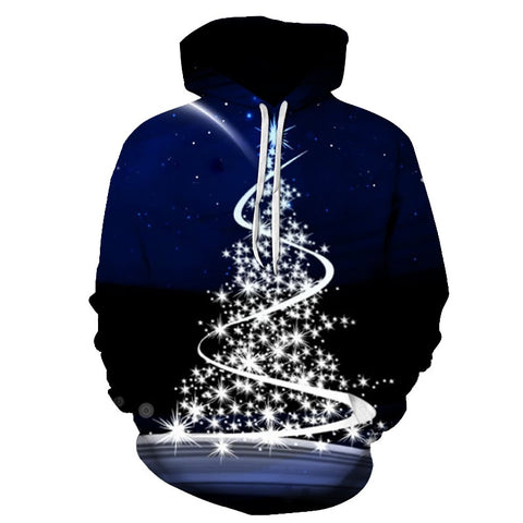 New Pattern 3D Print Unisex Christmas Sweatshirt