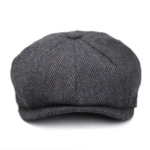 New Vintage Newsboy Cap