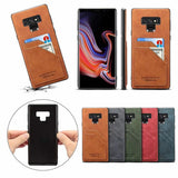 Slim Retro Leather Card Solt Wallet Case for Samsung Galaxy Note 9