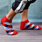 8 Pairs/Lot Casual Novelty Colorful Summer Combed Cotton Happy Ankle Socks