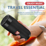 TG113C Portable Bluetooth Mini Speaker with FM Radio Waterproof Subwoofer