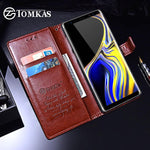 Wallet Case For Samsung Galaxy Note 9 8 S7 Luxury Leather