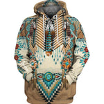 Native Indian New Fashion 3D Printed Hoodies