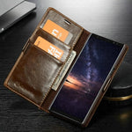 Soft Leather Wallet Case For Samsung Galaxy Note 9