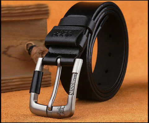 New Give The Watch Men Belt Genuine Leather Needle Buckle For Young And Middle Aged