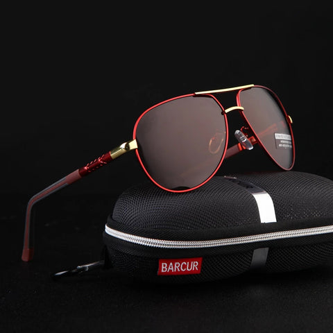 Aluminum Magnesium Men's Sunglasses Men Polarized Coating Mirror