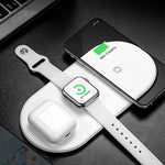 Fast Wireless Full load 3 in 1 Charging Pad for iPhone Airpods 2019 Apple Watch 4 32