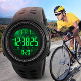 Fashion Sport Multifunction Digital Watch 5Bar Waterproof