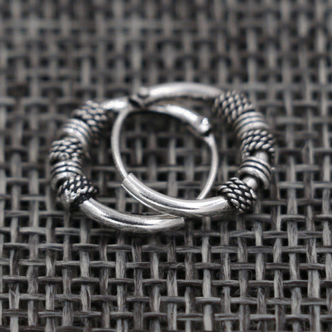 Vintage Spiral Coil Earring