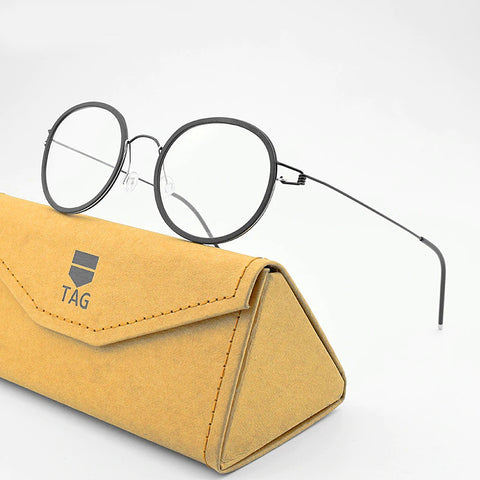 2020 Ultra-light Business Unique Design Hand-made Eyeglasses