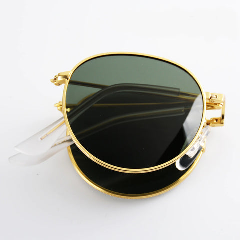 2020 Portable Foldable Folding Polarized Vintage SunGlasses