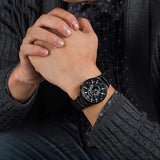Men's Casual Sport Waterproof Quartz Wristwatch