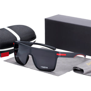Men Oversized Anti-Reflective Polarized Sunglasses