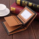 Vintage Short Small PU Leather Wallet