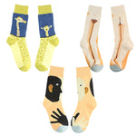 Quality Casual Colorful Novelty Cute Animal Pattern Skarpetki Funny Socks