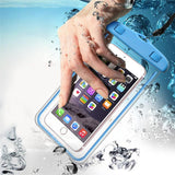 Waterproof Phone Case for Iphone X 8 7 6 Plus and Samsung Galaxy S9 S8 Plus S7 Edge