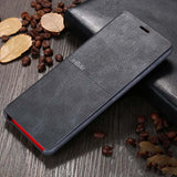 Ultra Thin Leather Case For Galaxy Note 9 S8 Plus S9 S9 Plus