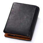 Genuine Leather Slim Wallet